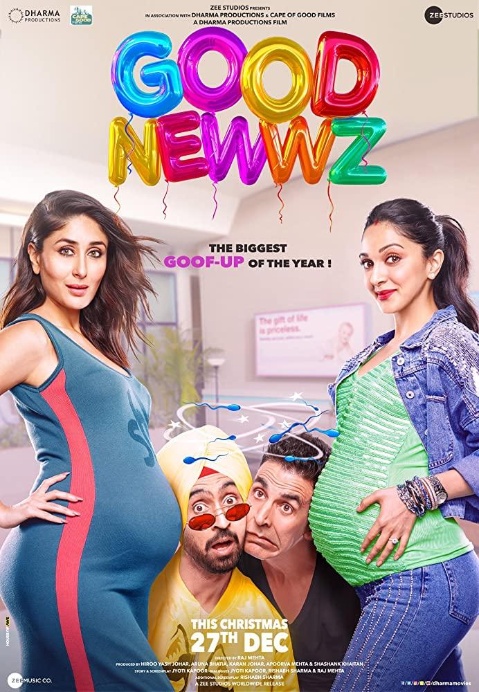 download good newz bollywood movie