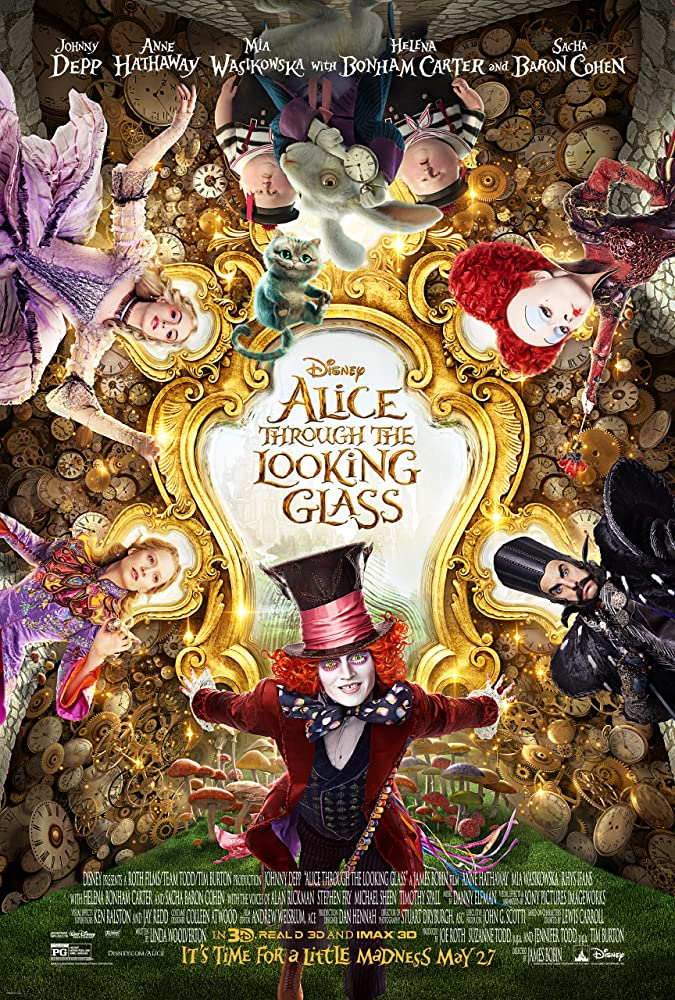 Alice in Wonderland 2 : Alice Through the Looking Glass (2016) | Download Hollywood Movie