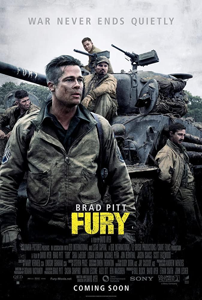 Fury (2014) | Download Hollywood Movie