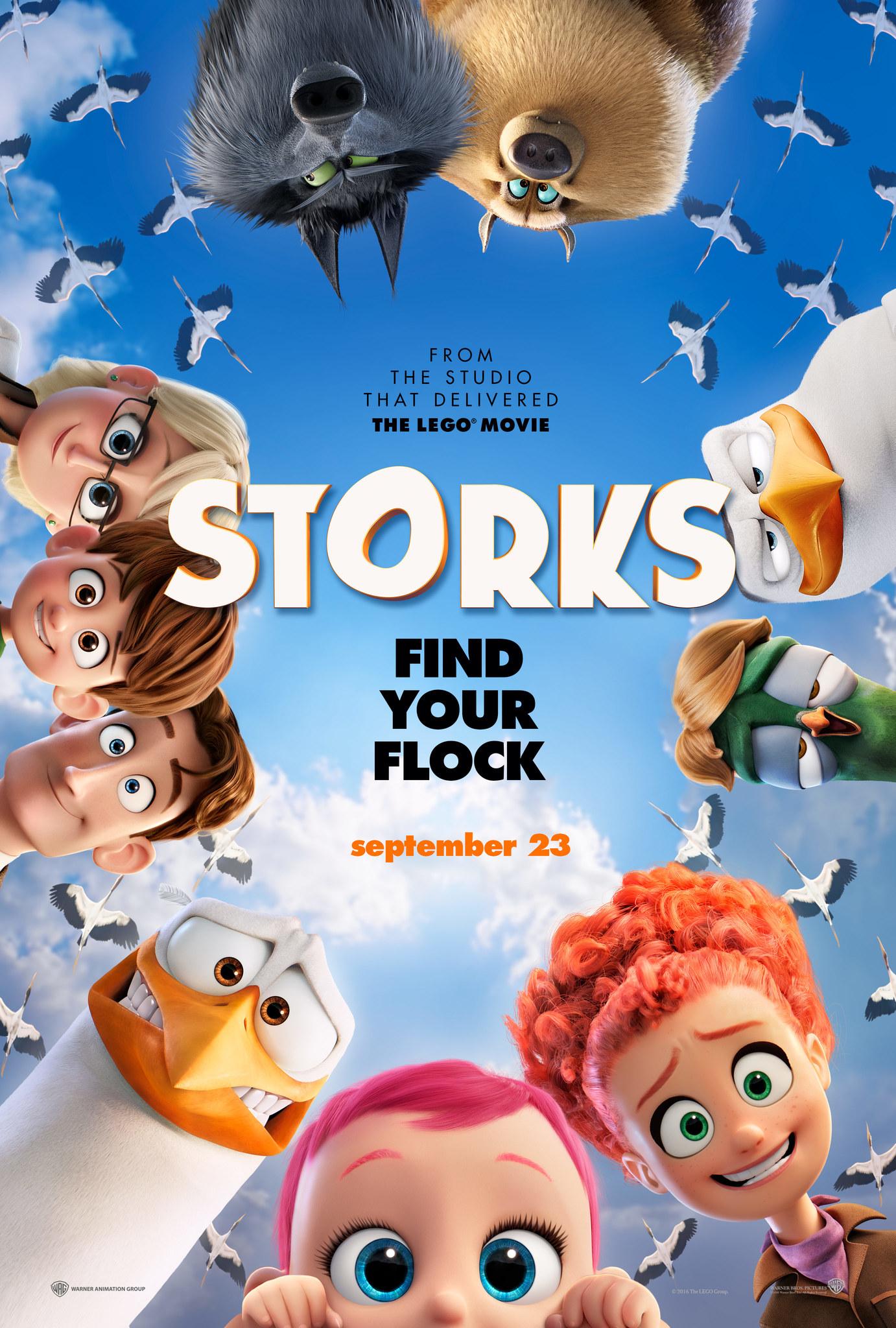 Storks (2016) | Download Hollywood Movie