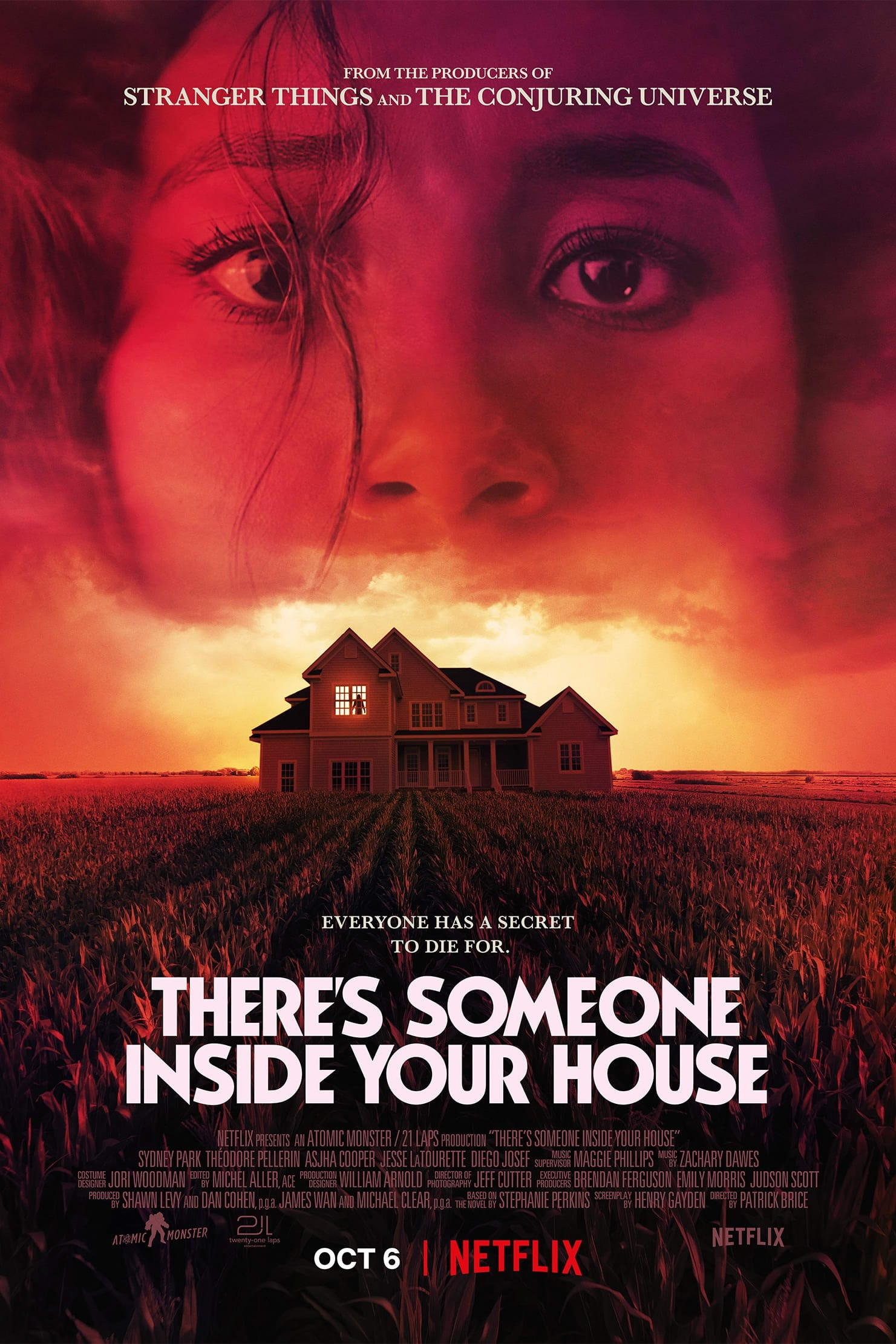 Read more about the article There's Someone Inside Your House (2021)   Download Hollywood Movie